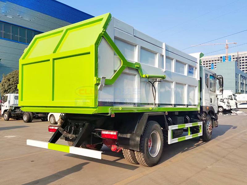 国六东风多利卡D9介绍,15方压缩对接垃圾车介绍