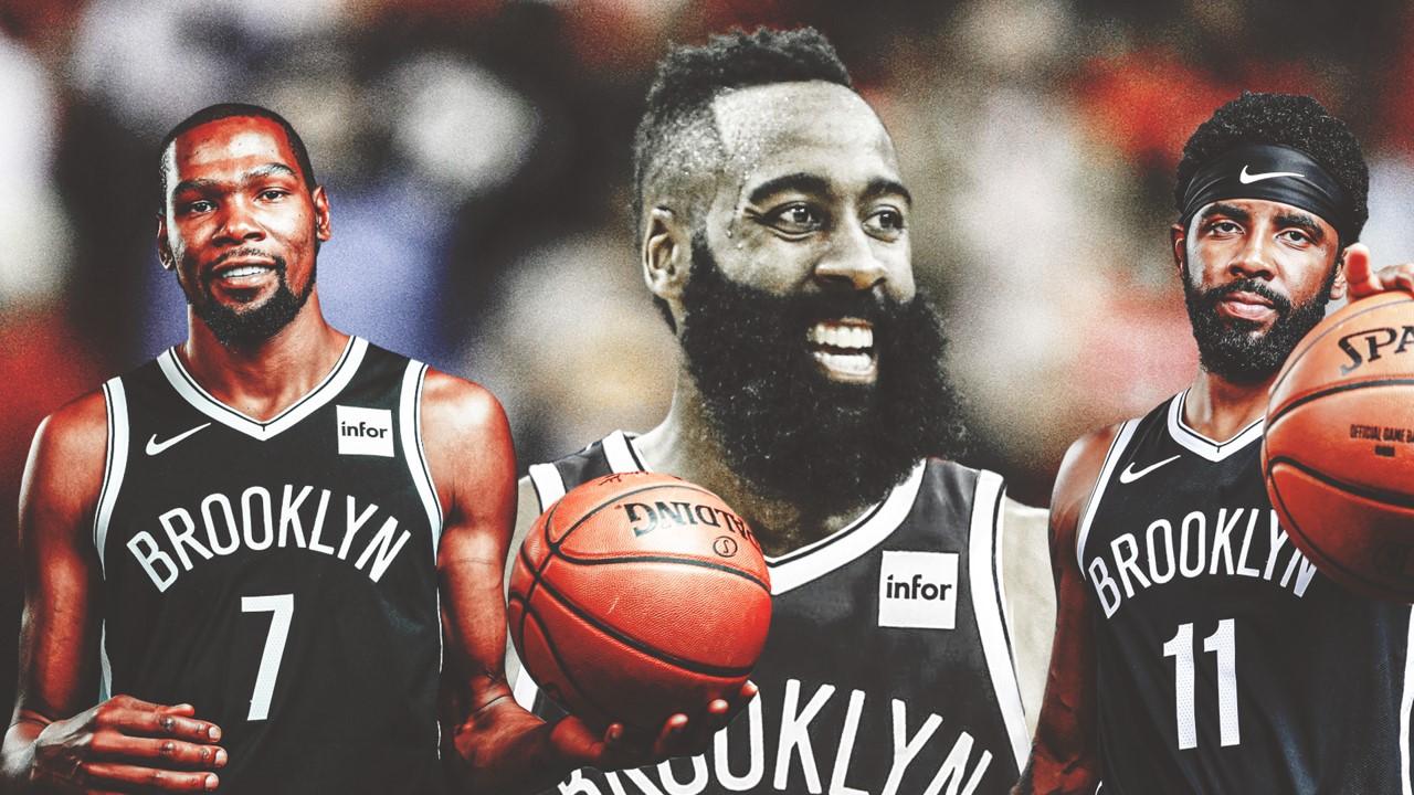 哈登加盟籃網若成真,那擁有三巨頭的籃網實力如何?名宿:決定上限是他,而非登杜!-黑特籃球-NBA新聞影音圖片分享社區