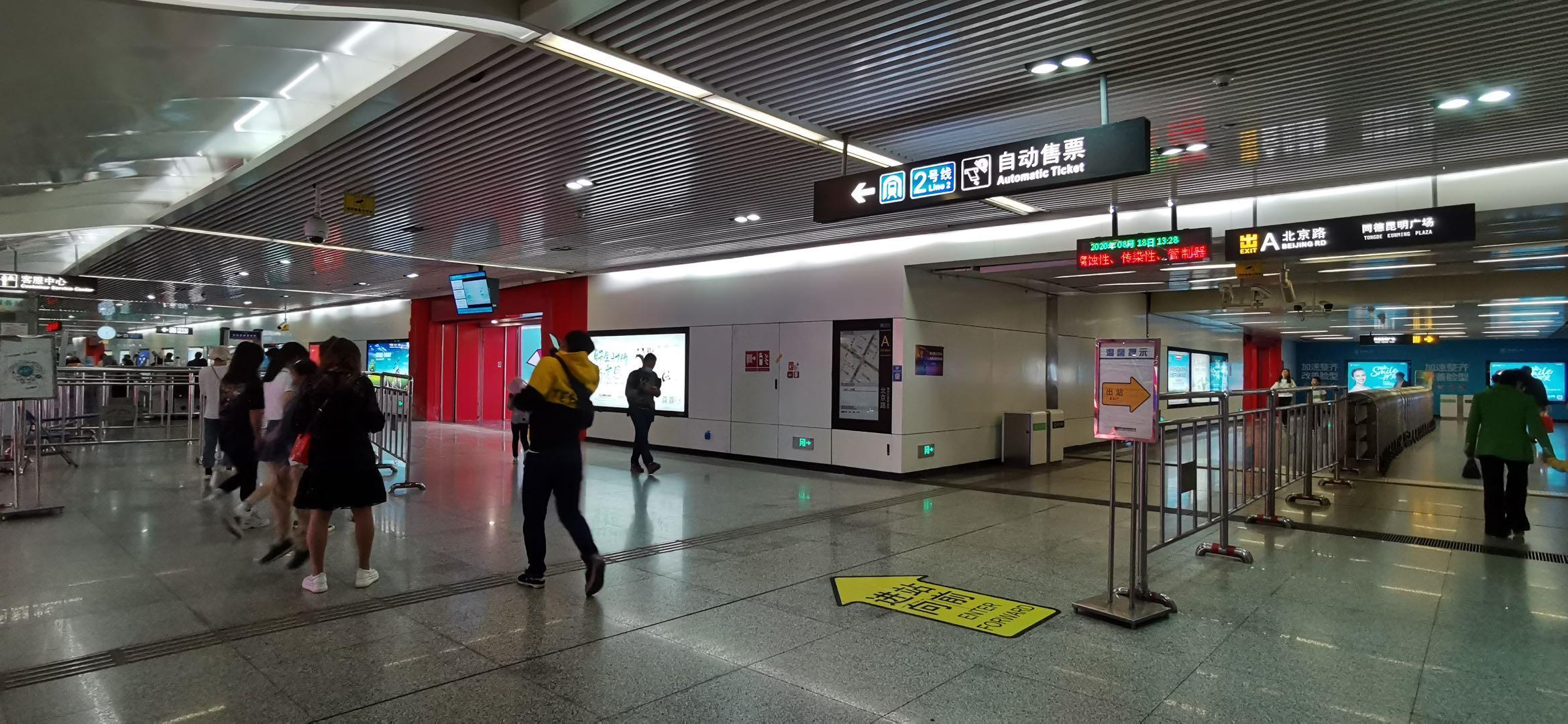 同样无缝接驳昆明白云路地铁站,北云66为什么干不过同德广场?