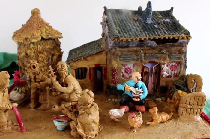 李海平:乡土情结是泥塑创作的灵魂