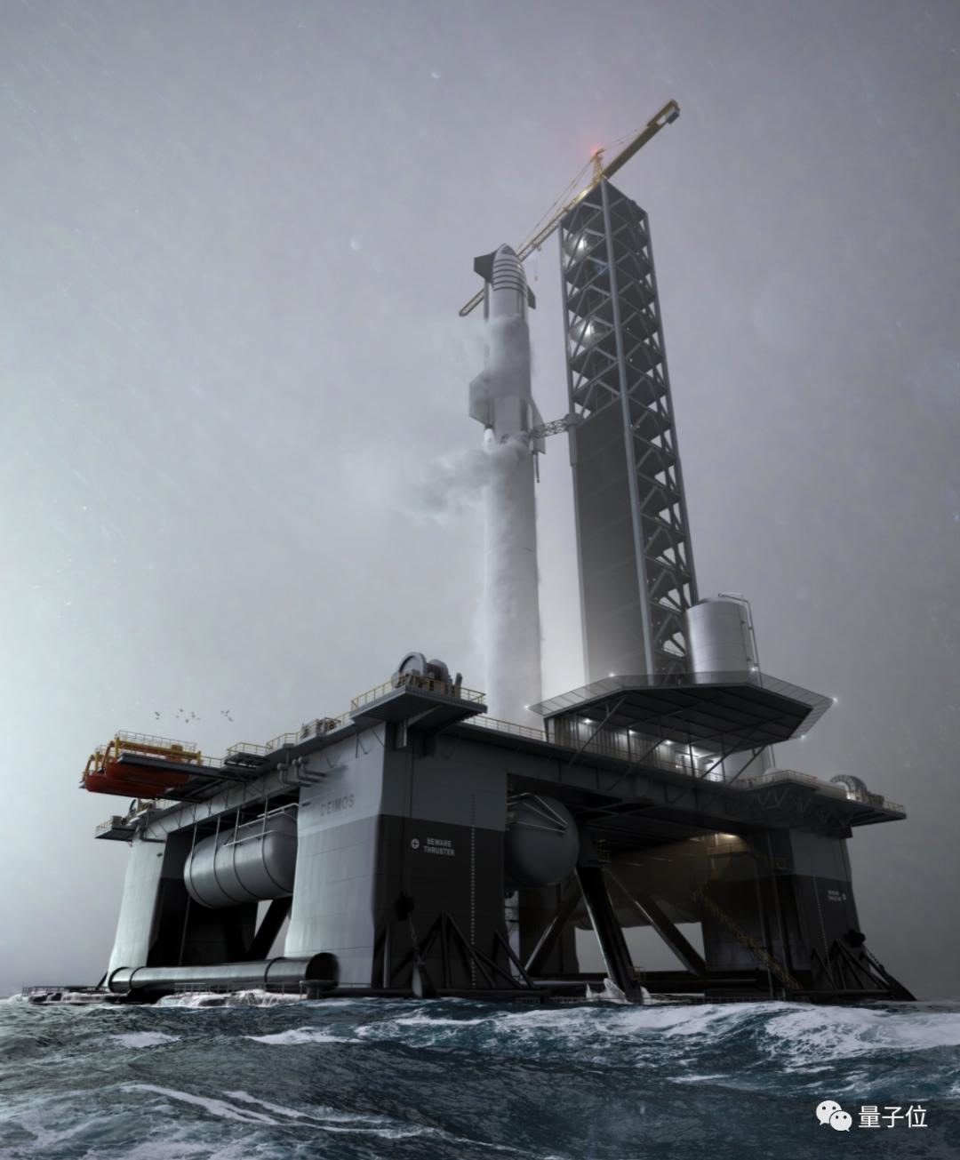 马斯克即将解锁海上发射!SpaceX海洋太空港最早明年可投入使用