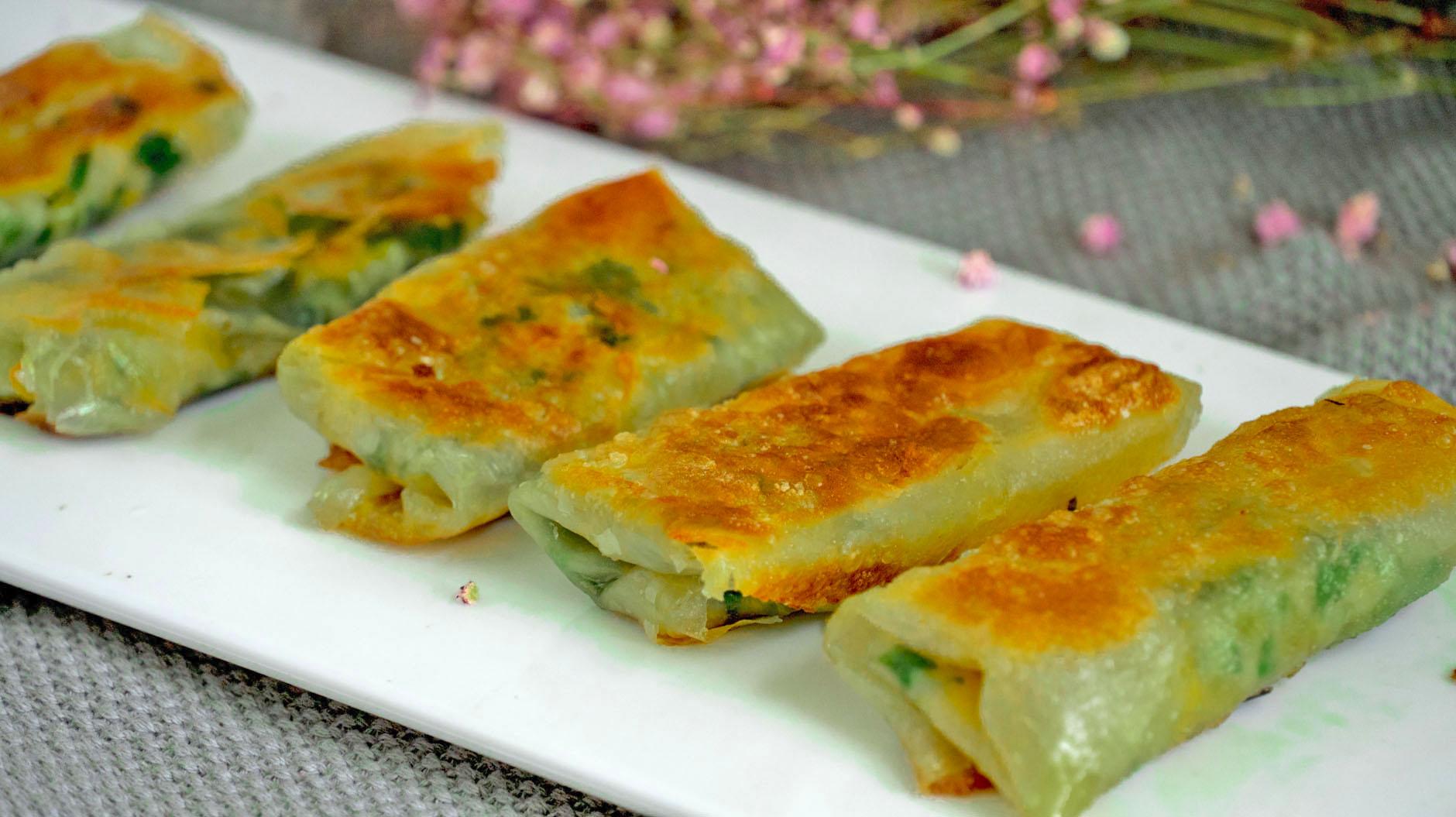 早餐别吃包子馒头了,1块钱饺子皮,教你5种吃法,做法简单又解馋 美食做法 第18张