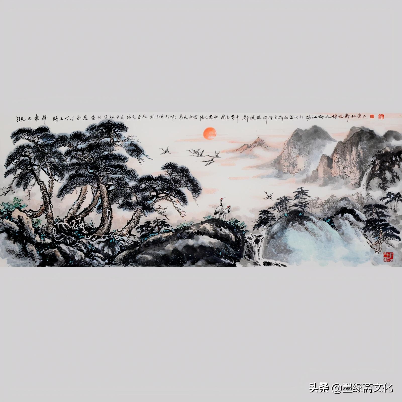 郑建鹏国画作品欣赏