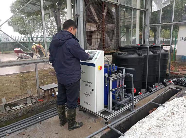 智能溫室種植新裝備新型水肥一體機性能及使用簡介