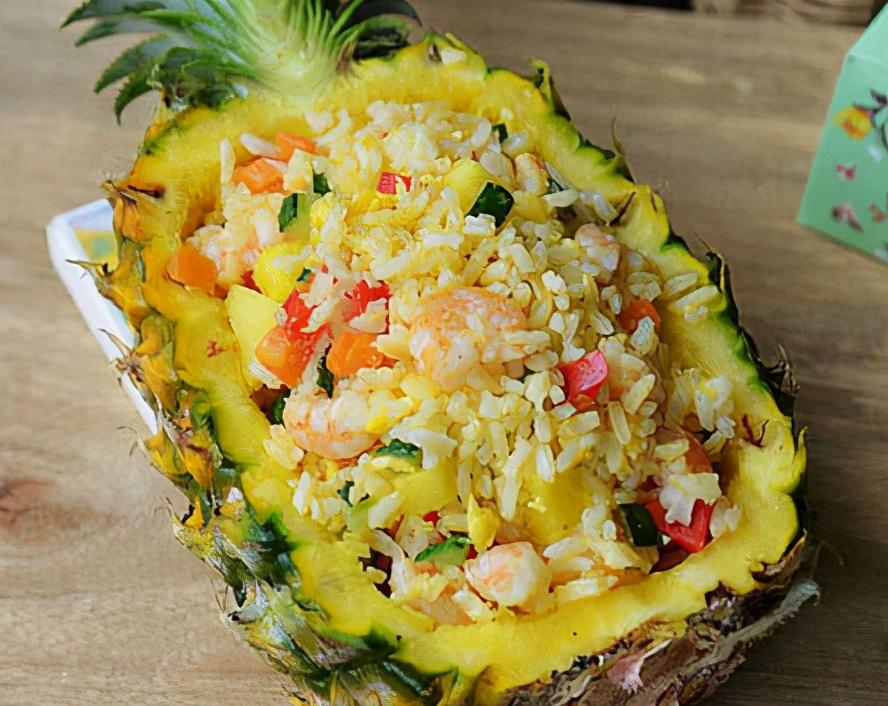 遇见菠萝别错过,便宜好吃,买回来做菠萝饭,口感丰富,全家都爱 美食做法 第1张