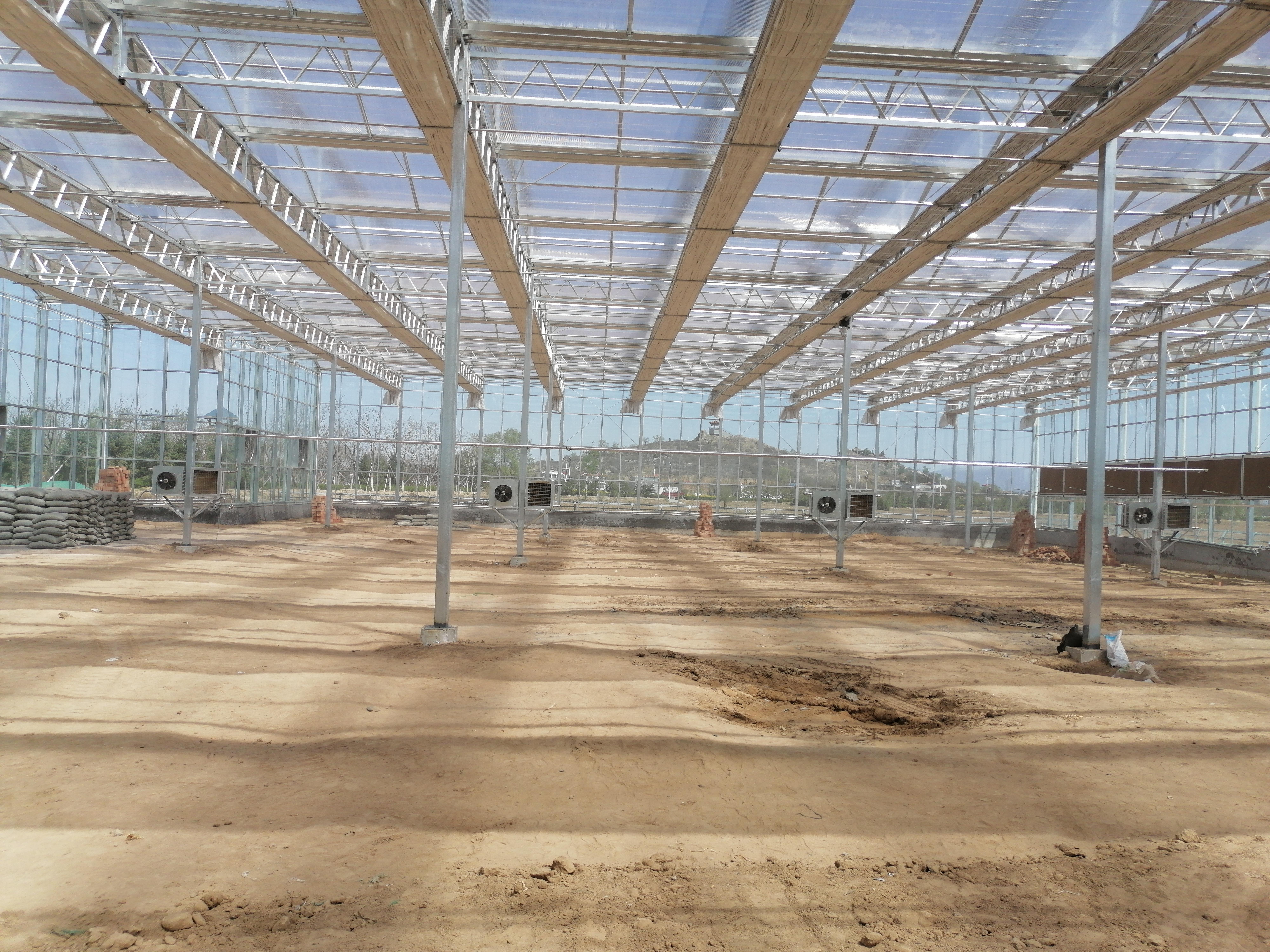 温室大棚设计建造案例分享,智能温室大棚造价一亩地多少钱