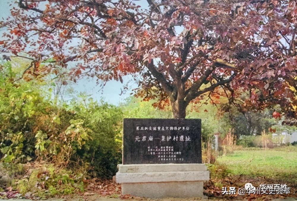 解放初期的华县柳枝元君庙与戏楼
