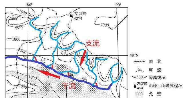 高中地理――每日讲1题(河流的流向、凹岸、凸岸、三大岩石)