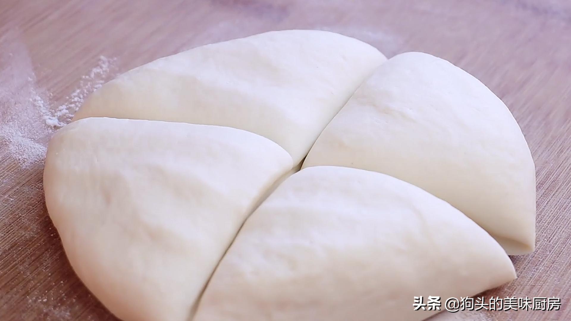 烙饼时,不要直接烙,多加这两步,饼柔软又起层,3分钟就能出锅 美食做法 第10张