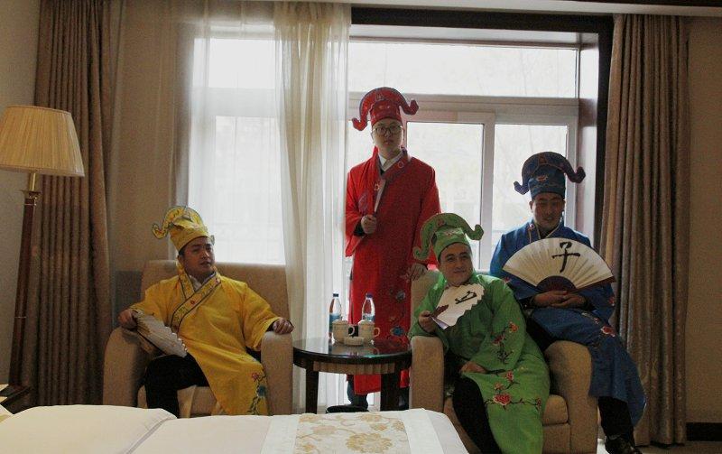 """真的吗?古代""""四大才子""""穿越来到平凉广成大酒店啦"""