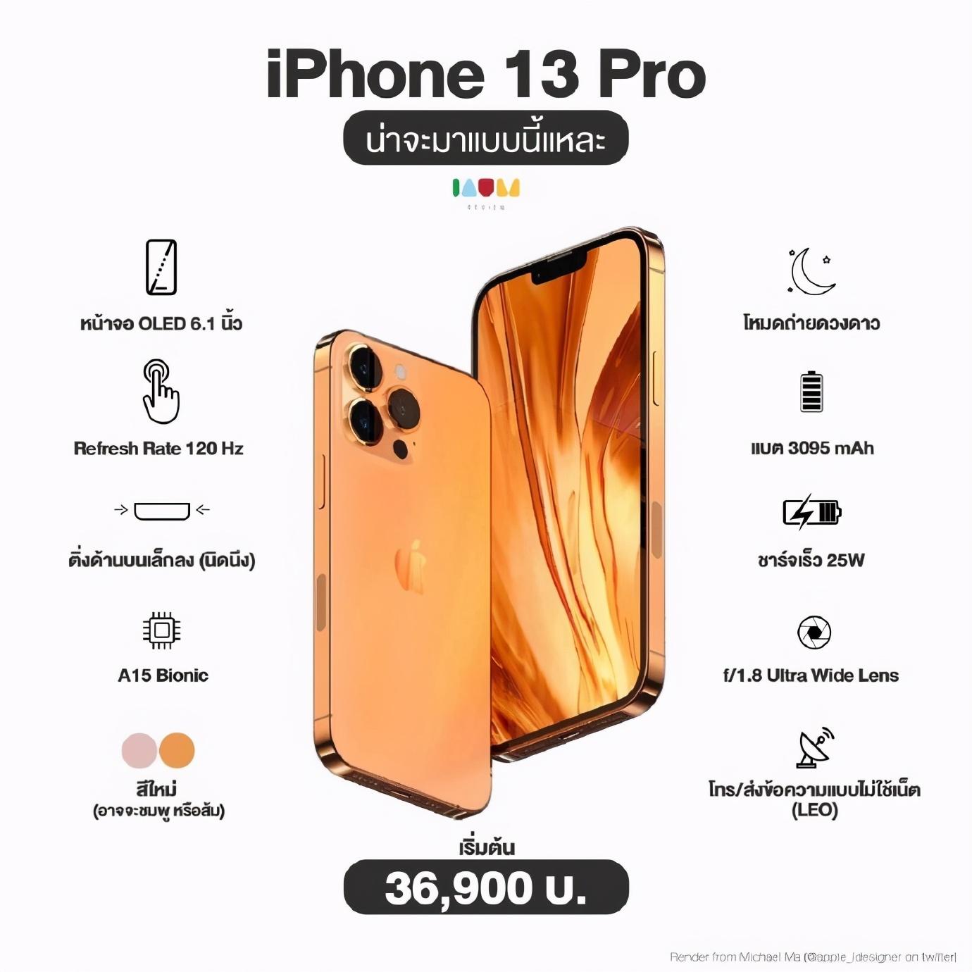 苹果iPhone 13系列4款机型详细参数曝光,看看哪款才是你的最爱?