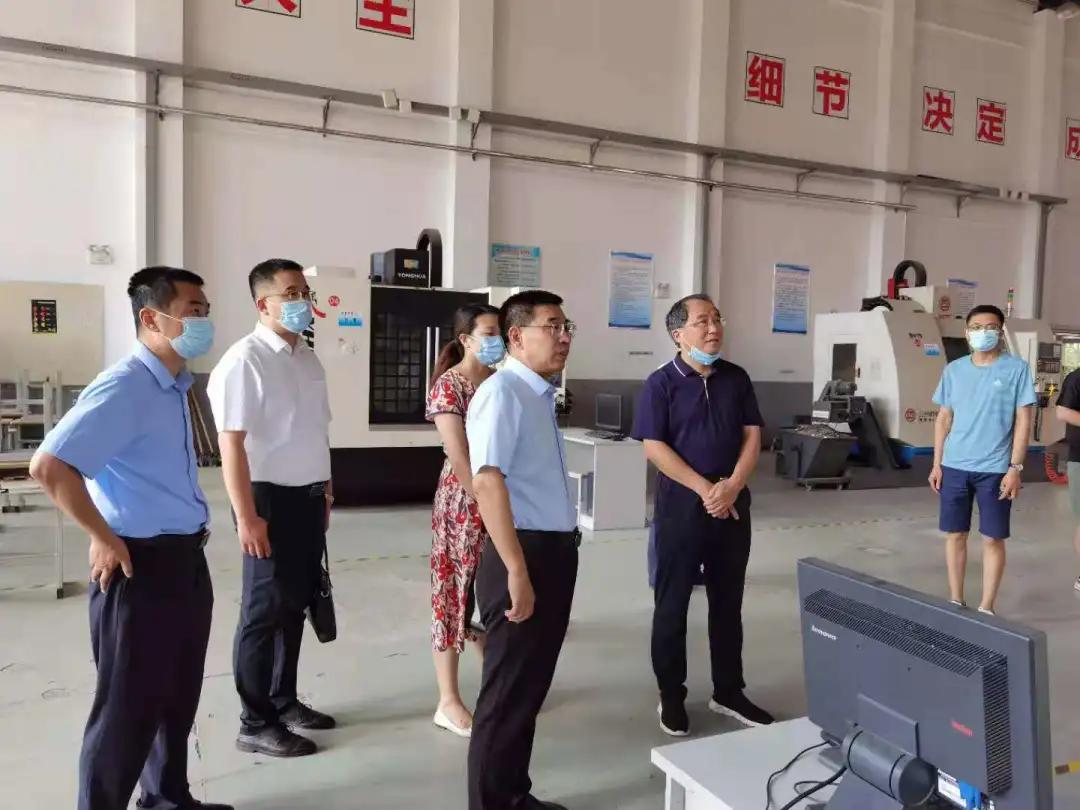 山东工业技师学院院领导带队赴菏泽、济宁、泰安、淄博学习考察