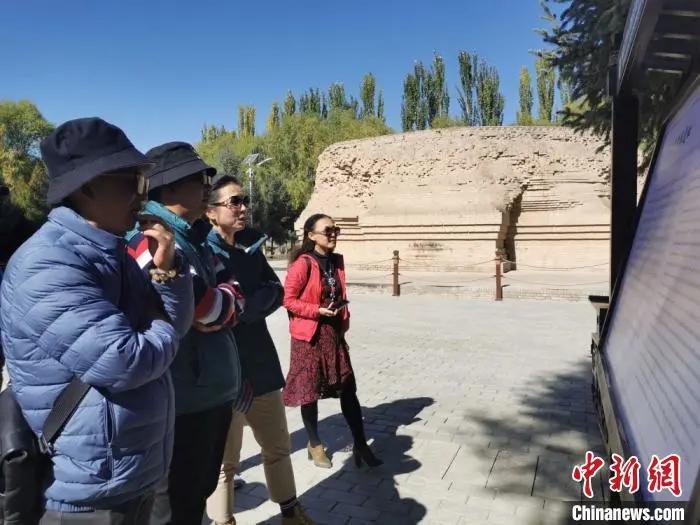 甘肃凉州白塔寺萨班灵骨塔遗址启动保护加固工程