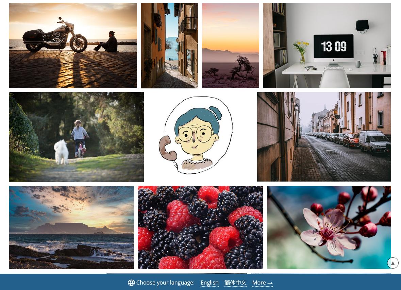 别找百度了,分享4个高清、免费图片素材网站给你!1个够你用1年