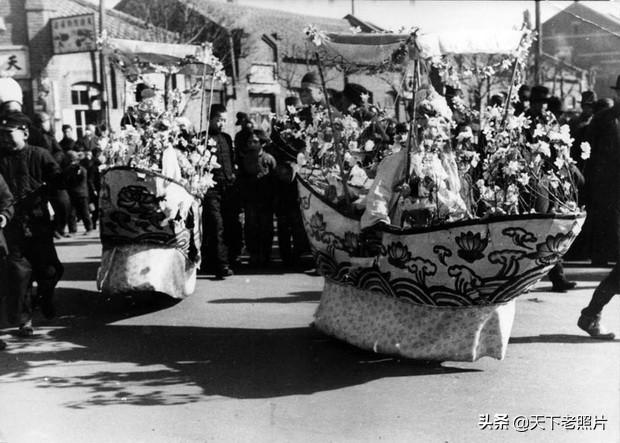 1939年辽宁抚顺老照片 伪满时期的抚顺民众生活风貌一览