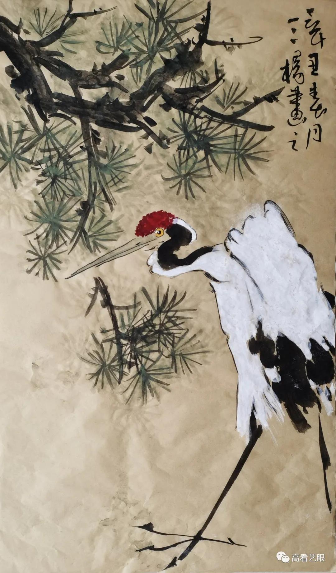 青年画家杨广强和他的绘画艺术
