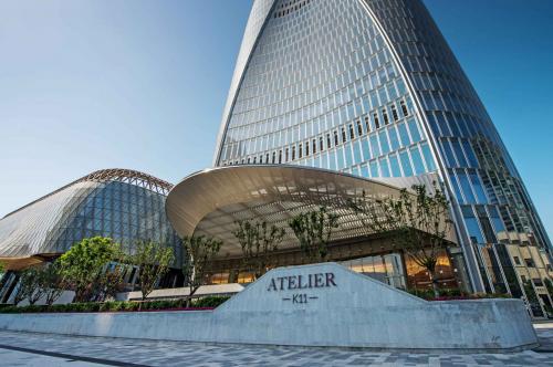 数字化设计成就世界第七高楼天津周大福金融中心