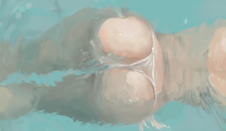 想当本子画师怎能不会画臀部?教你怎么画个诱人的臀部