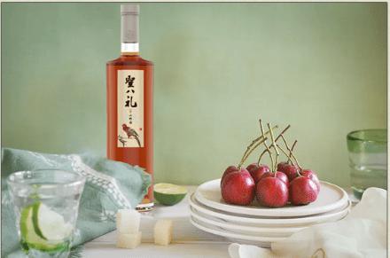 """圣八礼山楂酒的五""""心"""",赢得消费者的五星好评"""