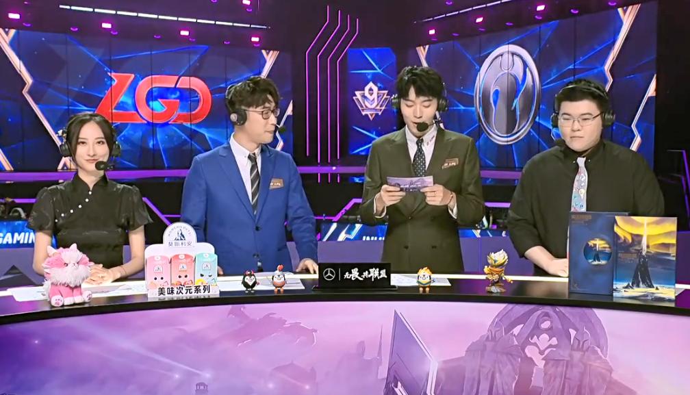 英雄联盟:Xiye拿出绝活卡萨丁,LGD打败IG,晋级世界赛