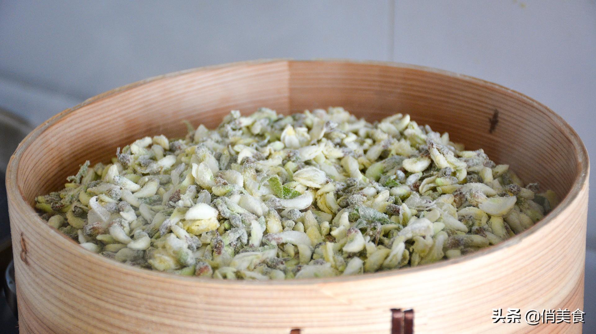 四月槐花香,清火又养颜,最美味的6款做法,一个比一个好吃 美食做法 第19张
