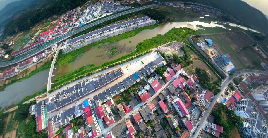 """陕西汉阴县一个镇,因两个山峰而得名,听名字让人""""脸红"""""""