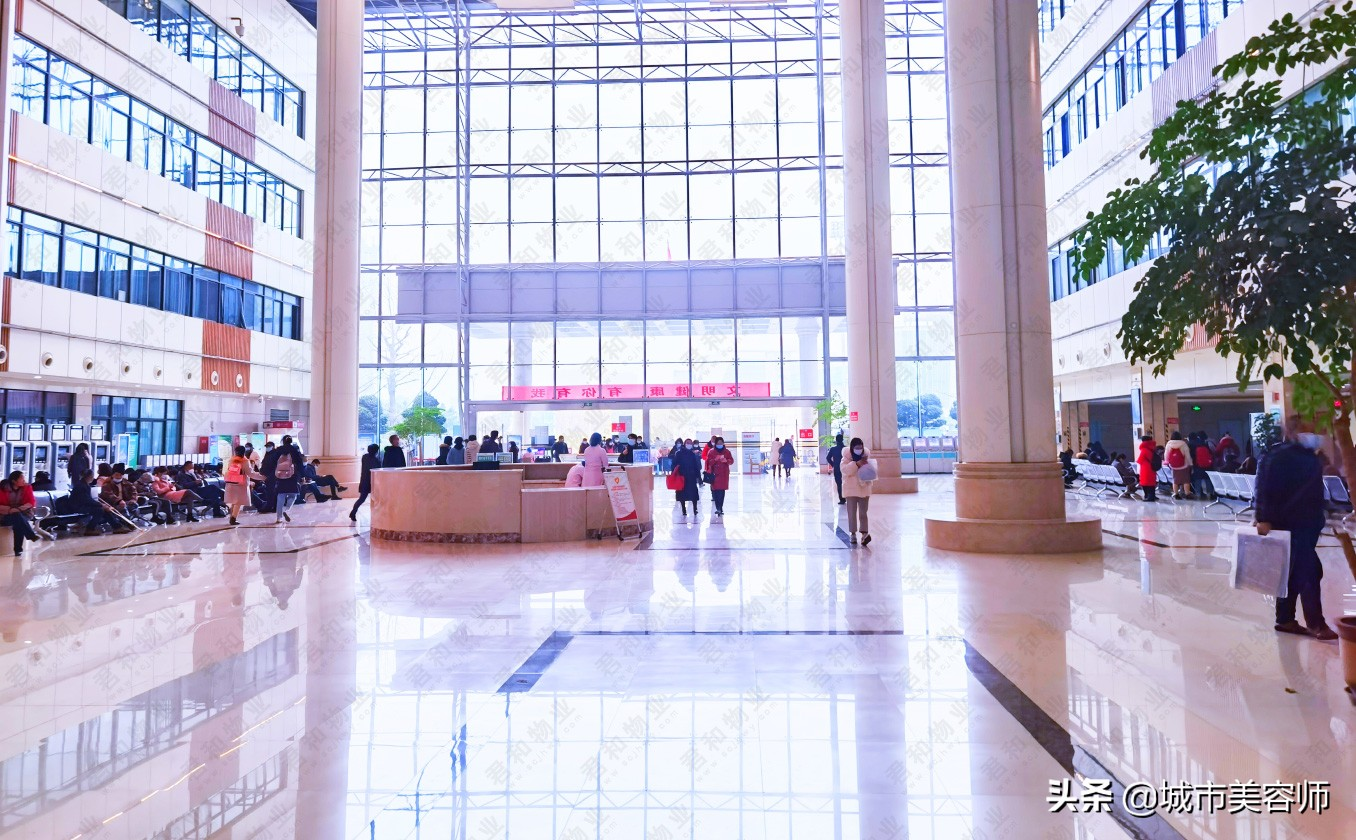 君和物业迎来开门红,2021年元月初入驻川北医学院附属医院