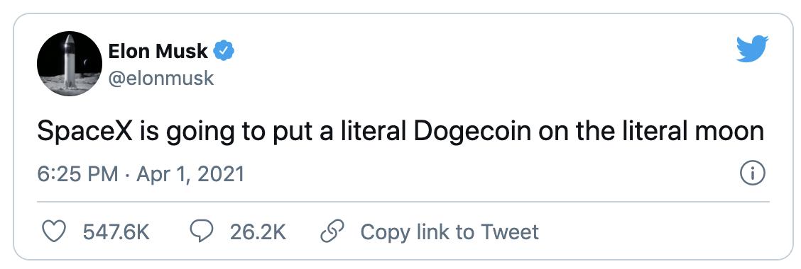 """你接受狗狗币买特斯拉吗?继SpaceX后,马斯克又一次紧急""""救市"""""""