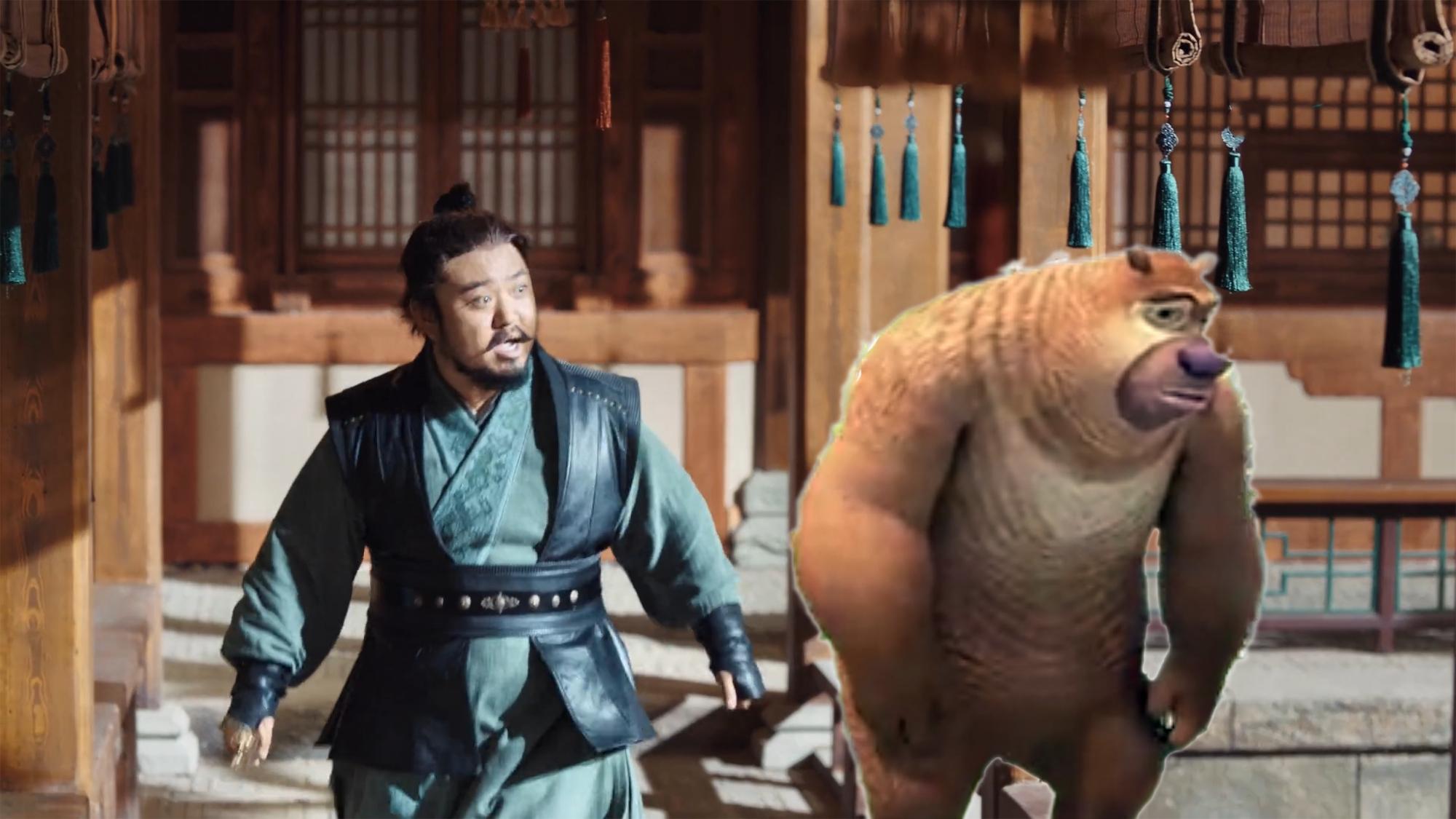 《赘婿》演员撞脸动漫角色,郭麒麟和皮杰神相似,吉吉国王最像