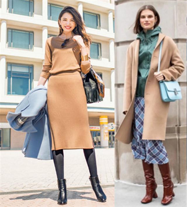 经典驼色穿搭如何出彩,学习佛罗伦萨风搭配,会更精致与迷人