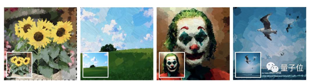 AI教你画油画:任意画风都可驾驭,笔画序列秒秒钟呈现