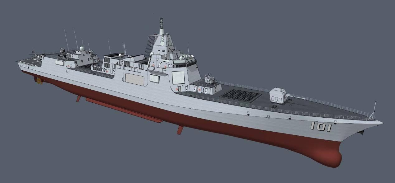 """055有了改进型?3号舰持续小改,加入""""风帽""""隐身,解决3个问题"""