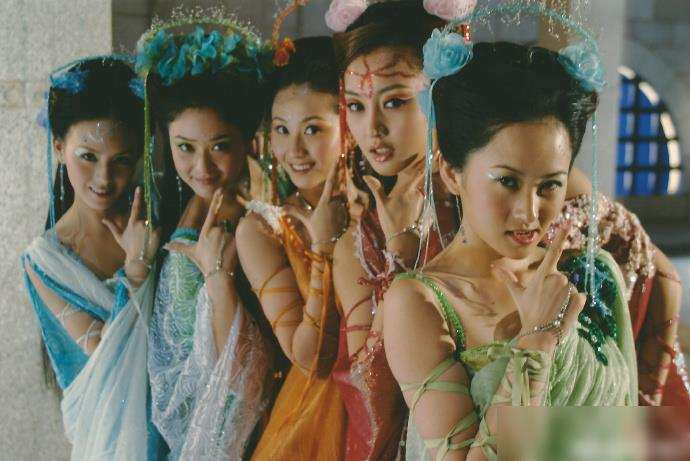 欢天喜地七仙女17年后重聚,霍思燕缺席,五仙女坦言7年没戏拍
