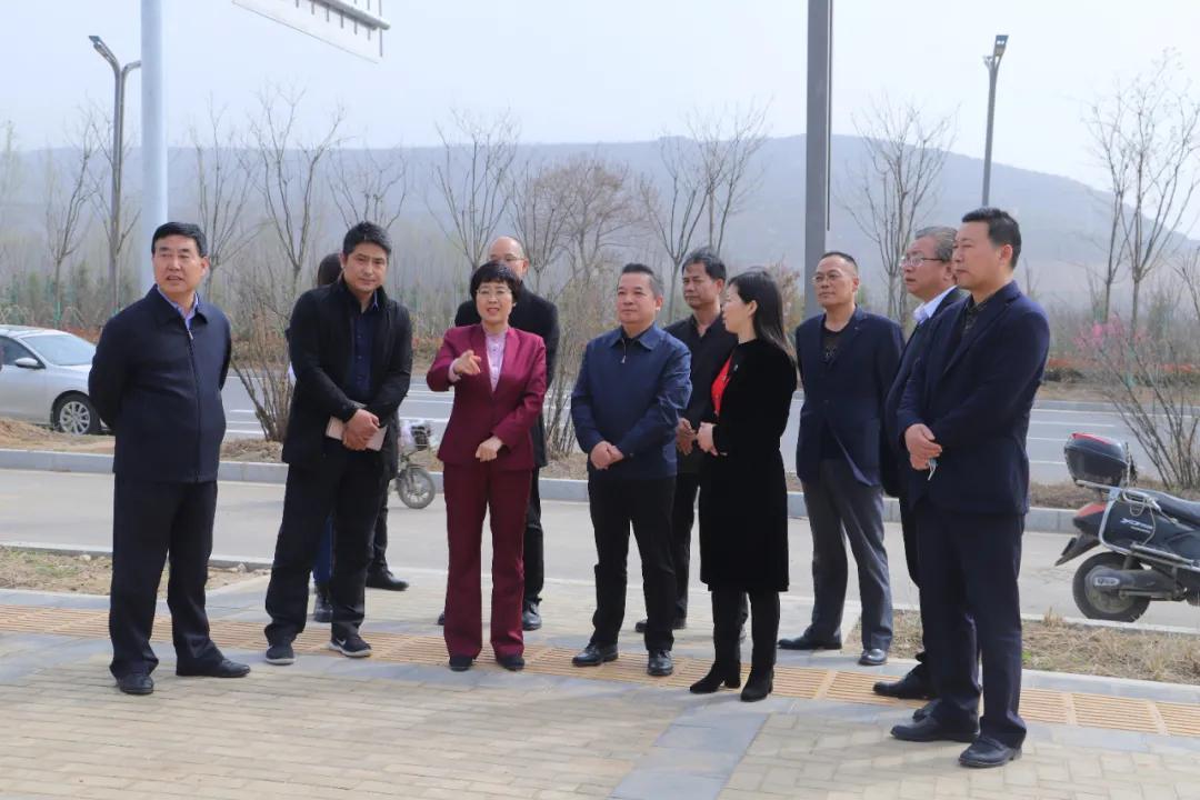 渭南市副市长高洁调研督导市第六医院建设项目