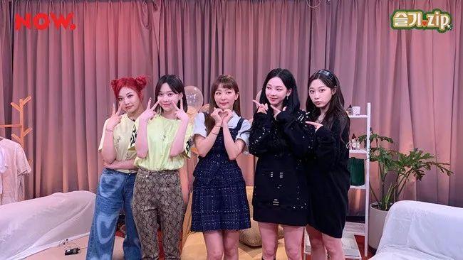 防弹粉丝袭击aespa歌曲评分?;涩琪&彩演超越6岁的年龄差成为朋友