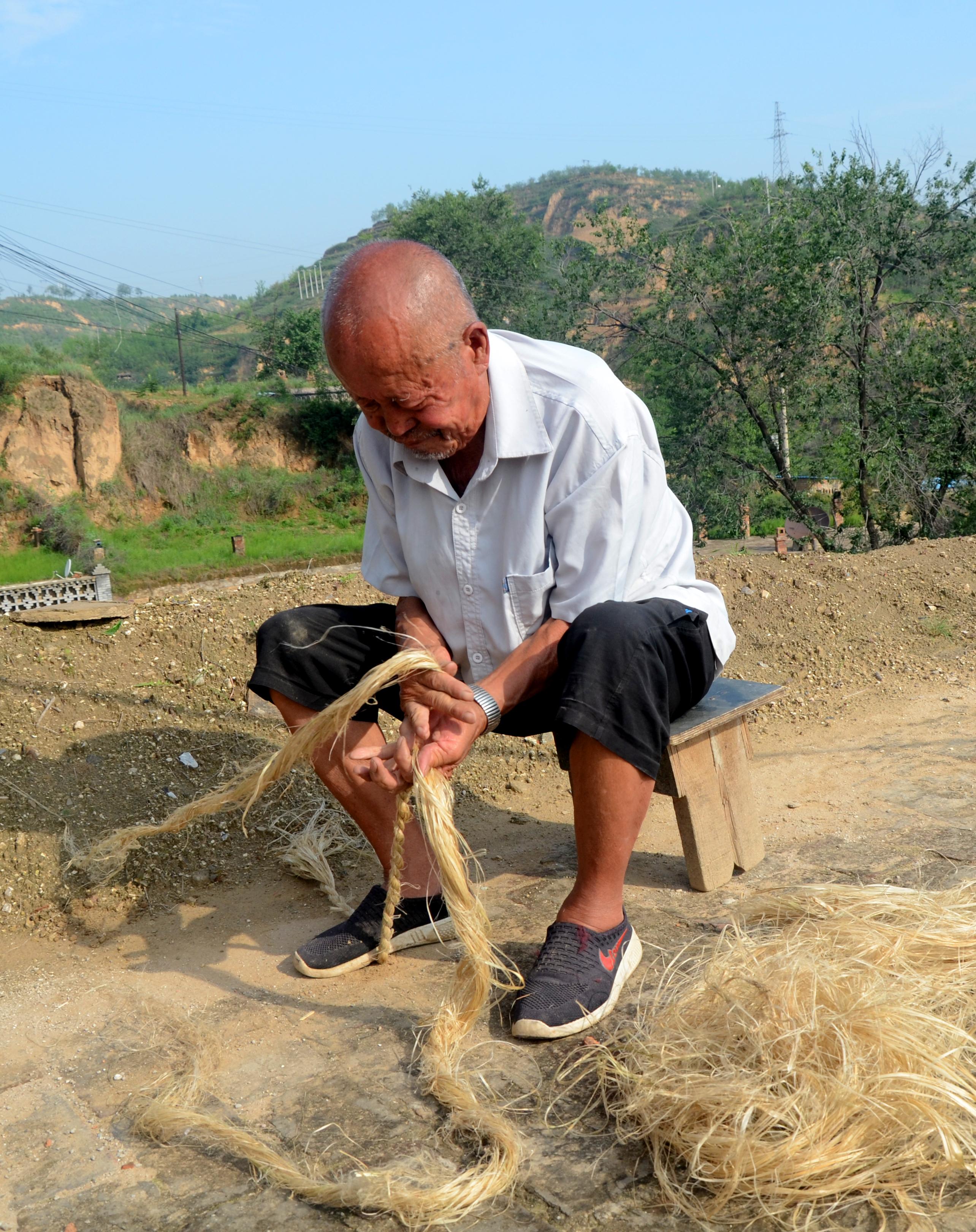 陕北绳匠:在长绳上谱写人生乐谱的人丨工匠精神