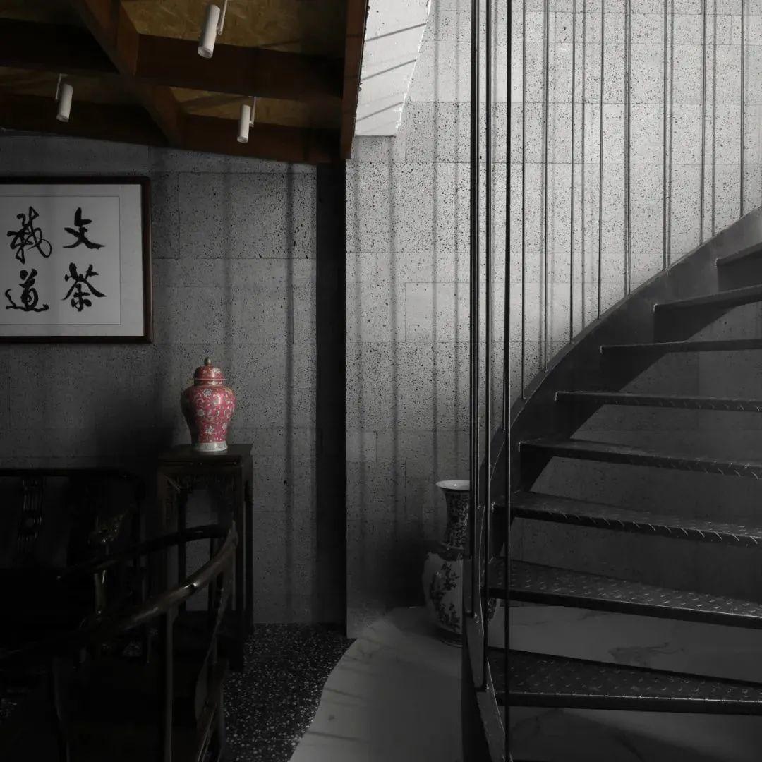 大少普洱茶室,诗意庭院与茶道