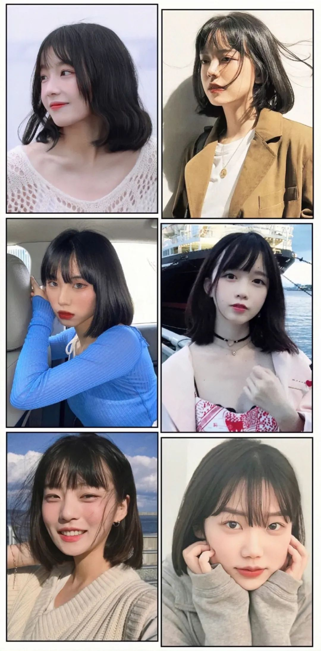 2021巨显脸小的10款发型,长短发都有
