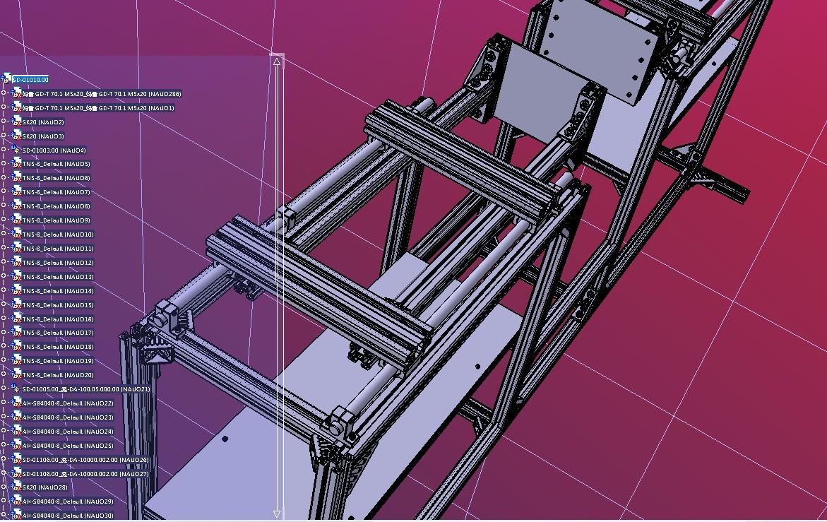 台架试验牵引电动机3D数模图纸 STEP格式