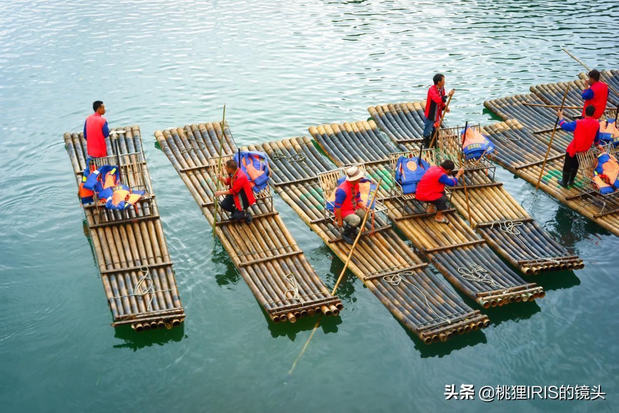 255元的桂林竹筏漂流贵吗?船工说,只赚80,一天只能跑3趟