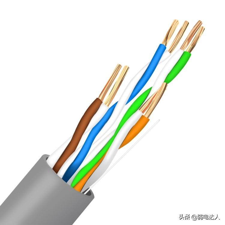 utp5e是什么线(utp5e是千兆网线吗)