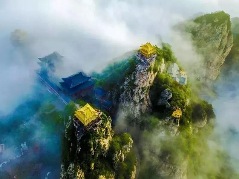 眺望峰林仙境,玩转东方腔调!这个端午,在老君山,体验最炫国风