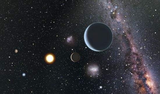 天文学家直接拍摄到两颗系外行星,绕类太阳恒星运行-第1张图片-IT新视野