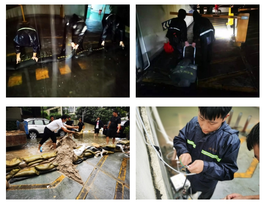 台风过后,这4面锦旗诉说着世茂服务在苏州的温暖故事…
