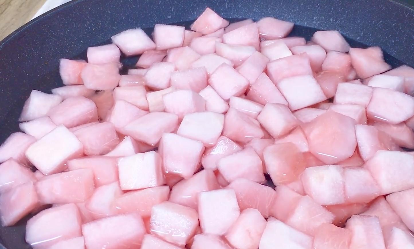 柚子瓤別扔了,教你自製柚子糖,清香又甘甜,好吃不上火,超簡單