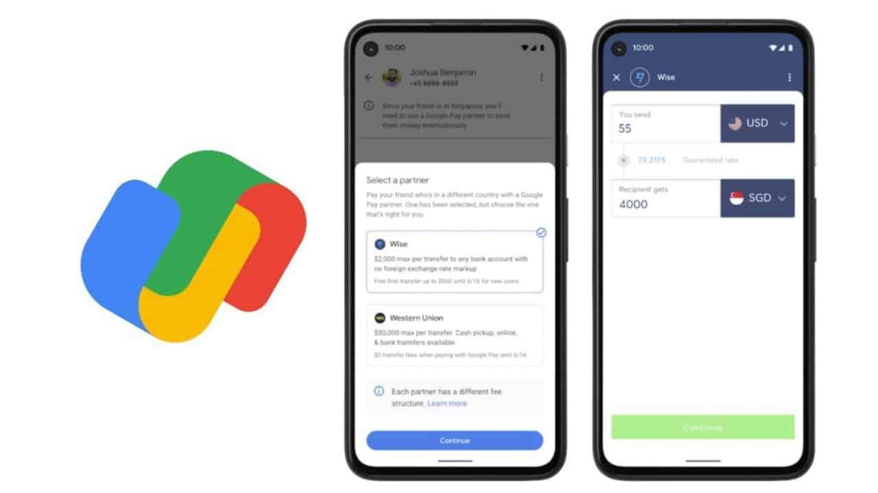 Google Pay 推出跨境付款