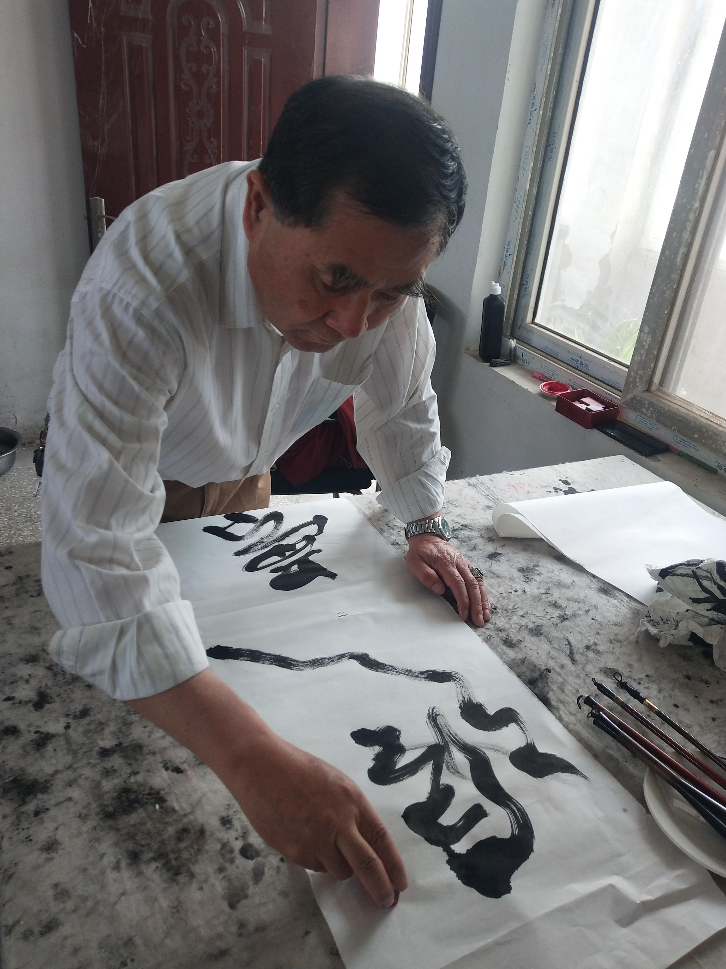 """""""四史""""宣讲""""百年辉煌・丹青颂党""""活动走进腾翔实业公司"""