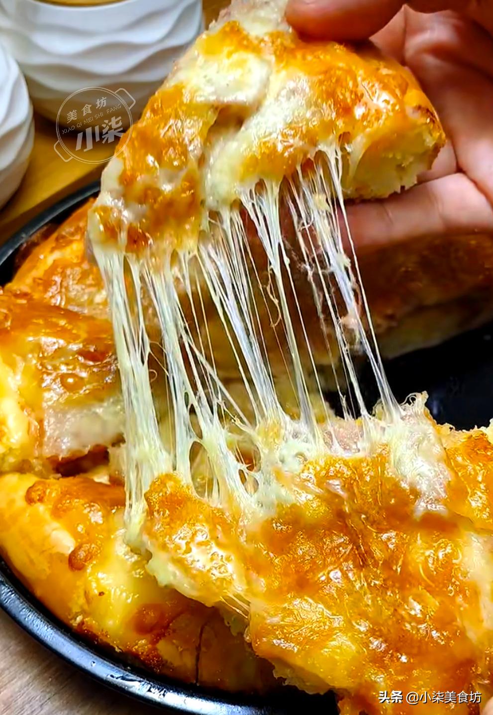 外面賣的披薩太貴了,教你在家做,成本不到10元,比賣的還好吃