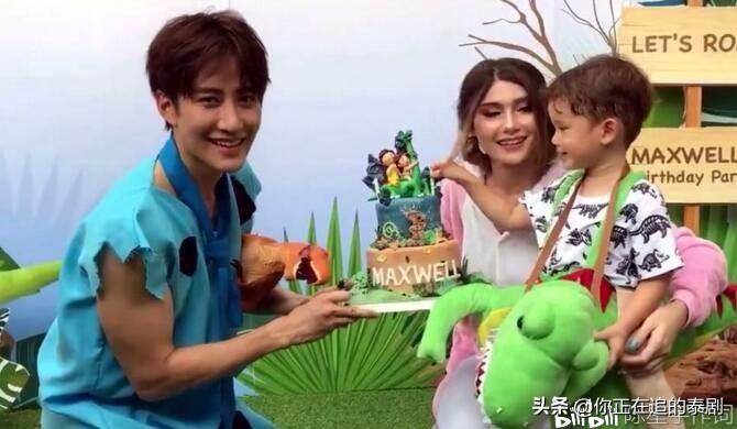 走紅中國的泰劇男星MikeAngelo與前女友爭奪兒子撫養權