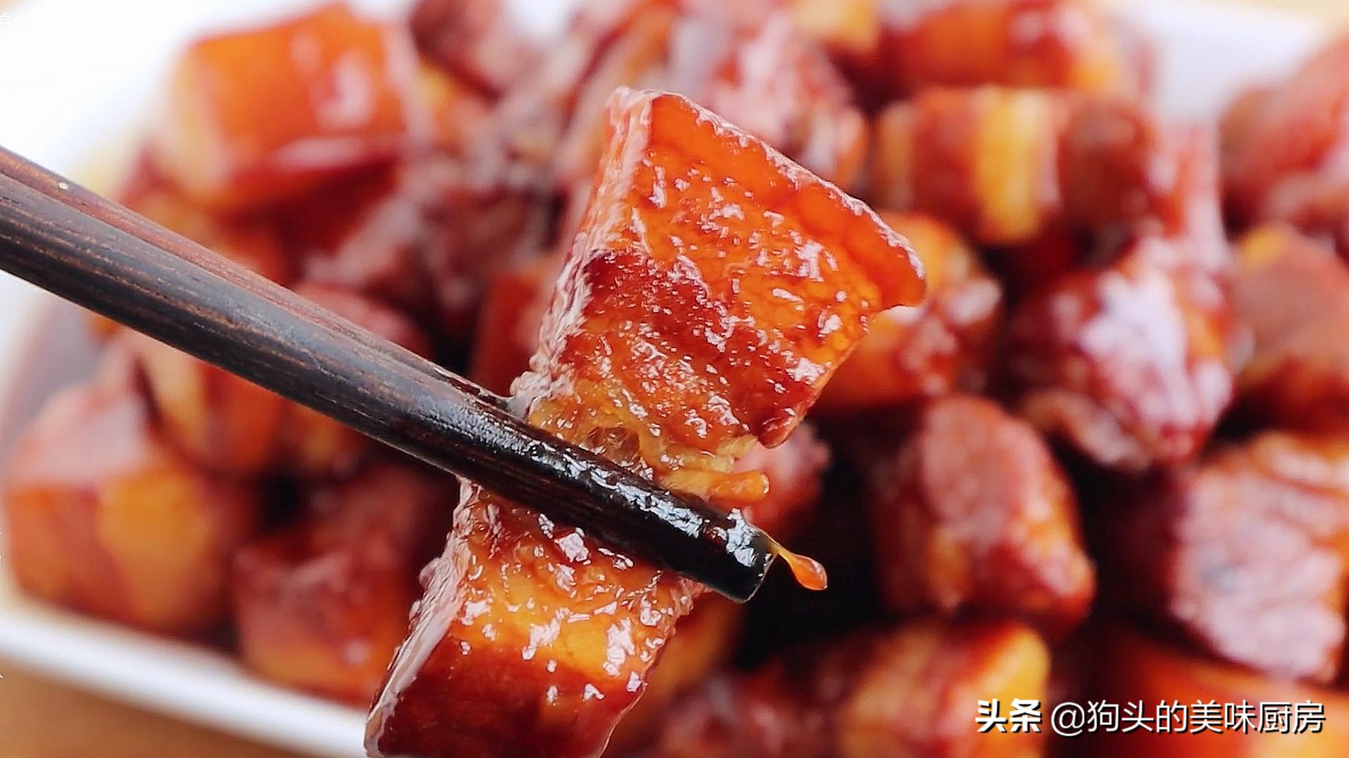 做红烧肉时,掌握这些小技巧,红烧肉不腥不柴,软烂入味口感好 美食做法 第3张
